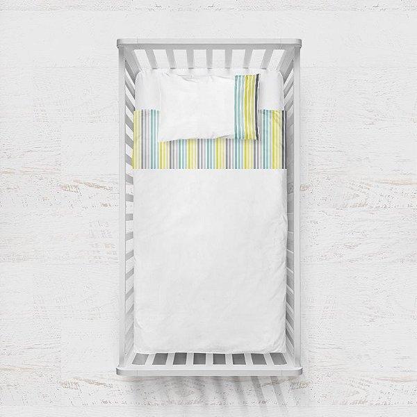 Jogo de lençol Citric Listras