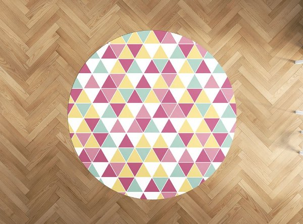 Playmat Candy Tri redondo