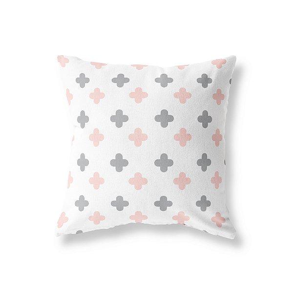 Capa de almofada Super Cute Branco e Quartzo