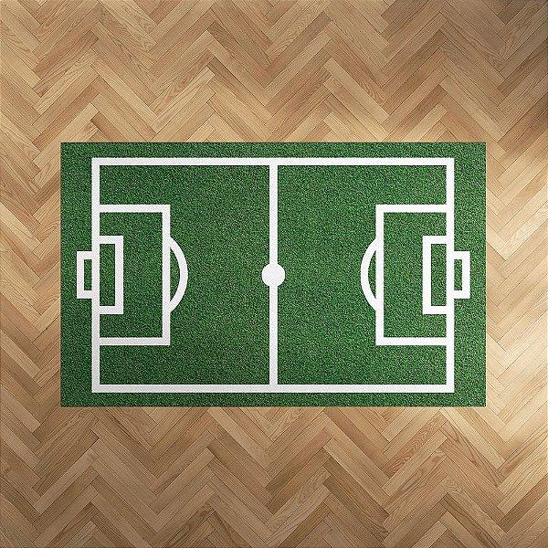 Tapete Campo de Futebol retangular