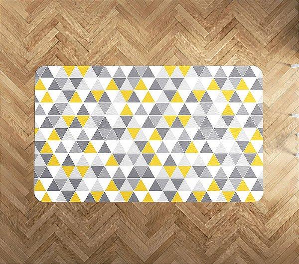Playmat Amarelo Tri Retangular