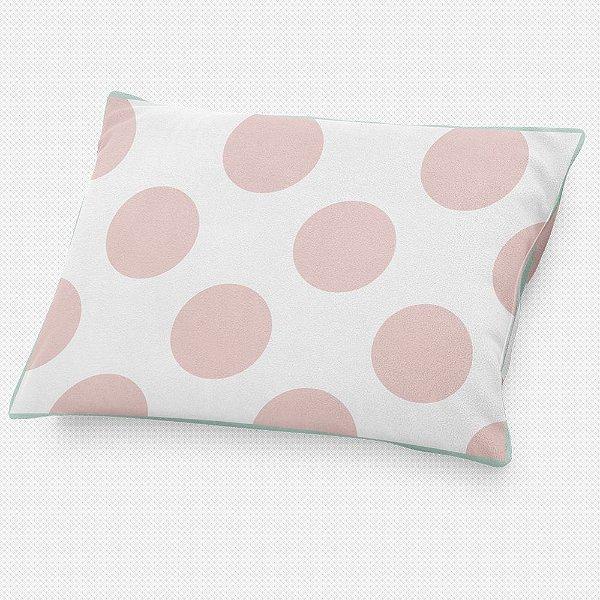 Almofada de cabeceira Bolas Rosa Quartzo
