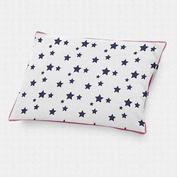 Almofada de cabeceira Estrelas Azul Marinho
