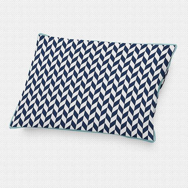 Almofada de cabeceira Flag Azul Marinho