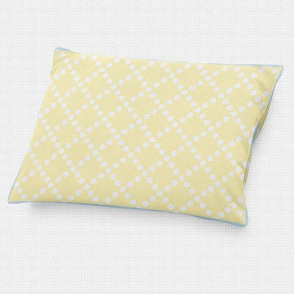 Almofada de cabeceira Pearl Amarelo Bebê