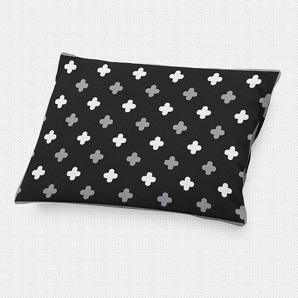 Almofada de cabeceira Super Cute Preto