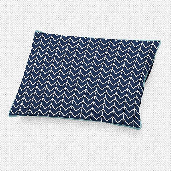 Almofada de cabeceira Ziggy Azul Marinho