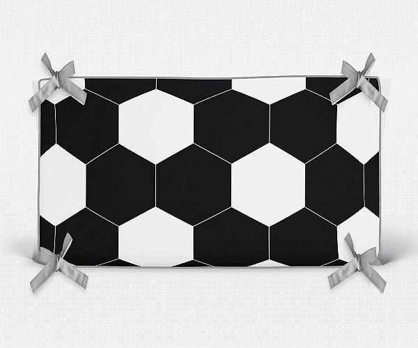 Cabeceira em espuma bola de Futebol preta