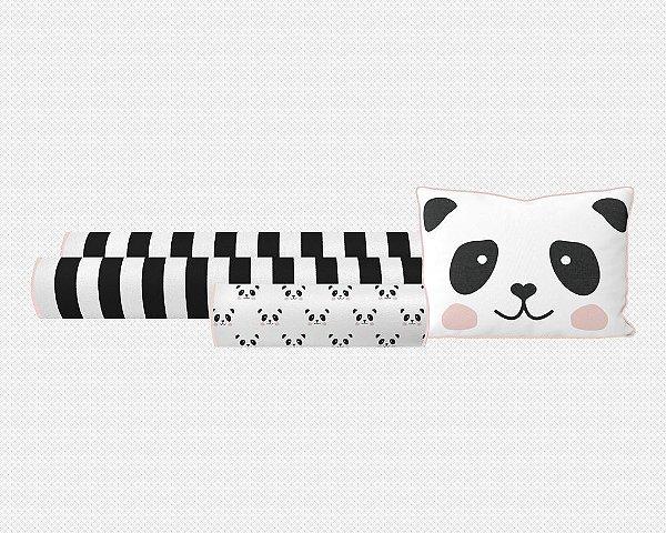 Kit berço Panda