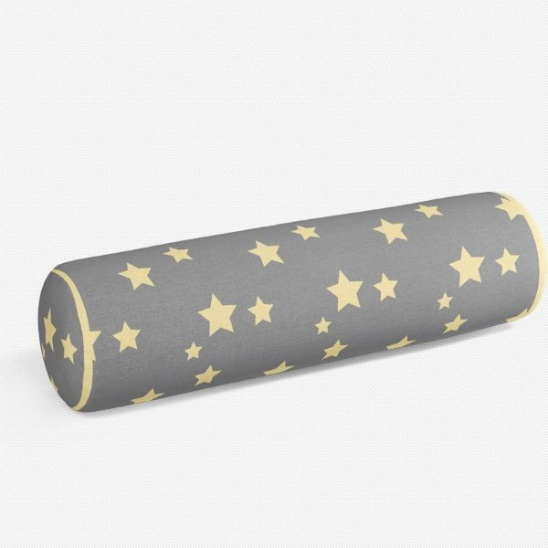 Rolo peseira Cinza com Estrelas 2