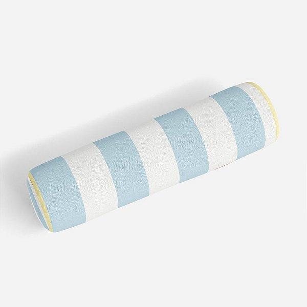 Rolo peseira Listras Azul bebê