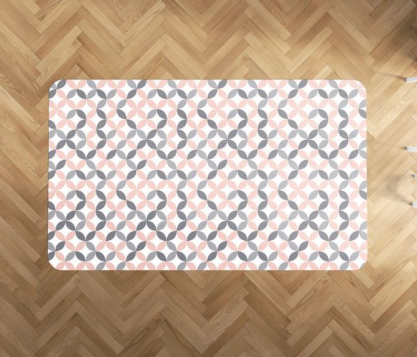 Playmat Quartzo Circles Retangular