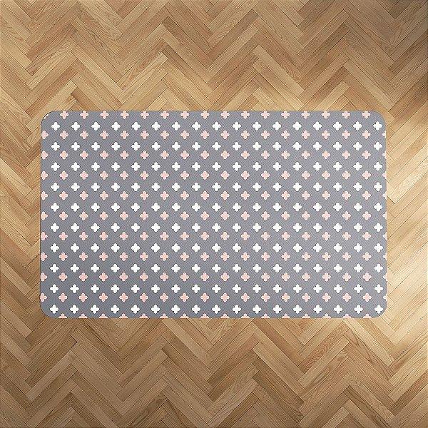 Playmat Super Cute cinza e quartzo Retangular