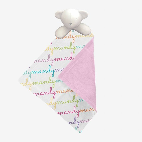 Naninha personalizada Nomes Rainbow