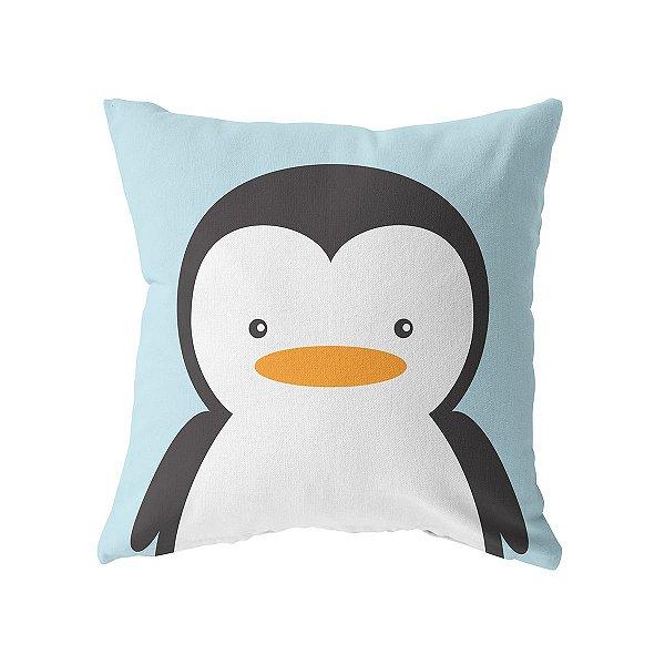 Capa de almofada Pinguim Zoom