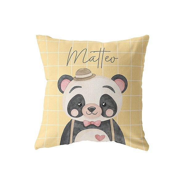 Capa de almofada Panda Personalizada