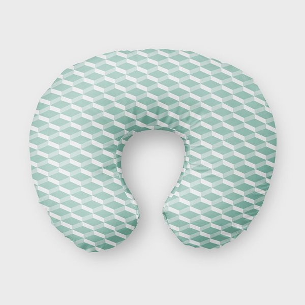 Almofada de amamentação 3D (várias cores)