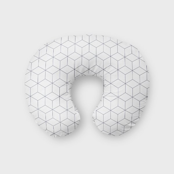 Almofada de amamentação Cubes 2 (várias cores)