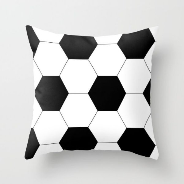 Capa de almofada Bola de futebol 50x50 ~ OUTLET