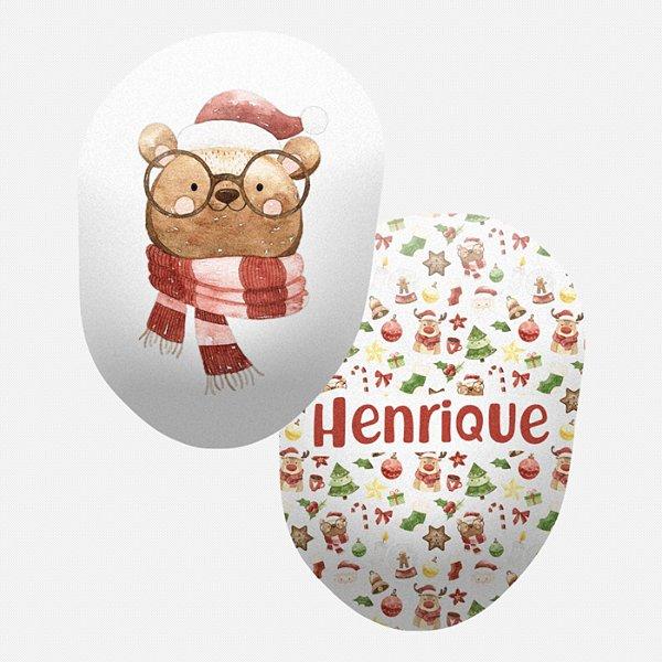 Toy Urso de Natal com óculos