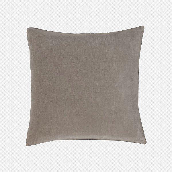 Capa de almofada em veludo luxo camurça