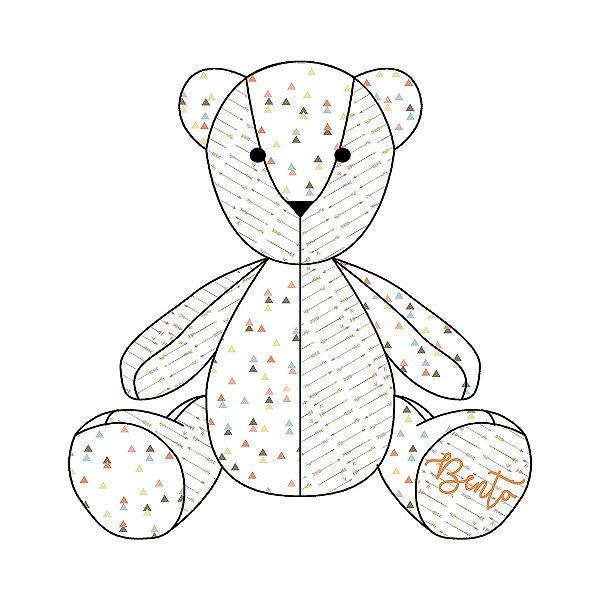 Urso Personalizável Mix Étnico laranja
