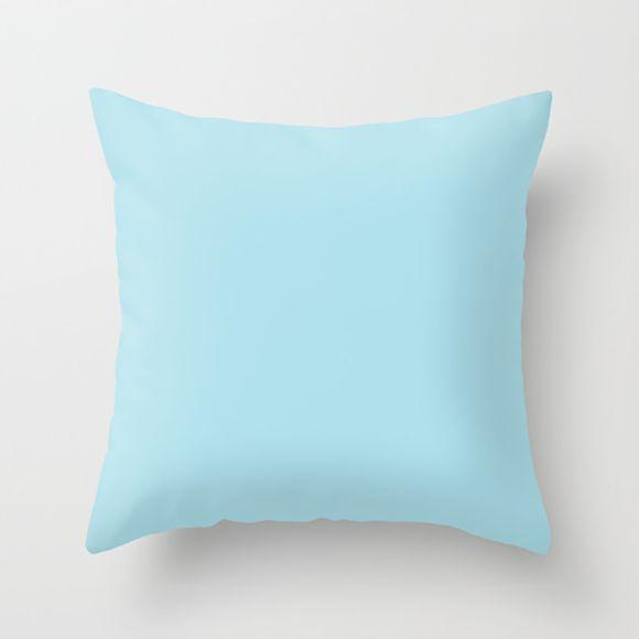 Capa de almofada Azul bebê  50x50 ~ OUTLET