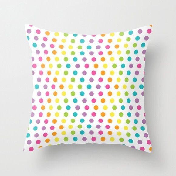 Capa de almofada Rainbow Zigzag