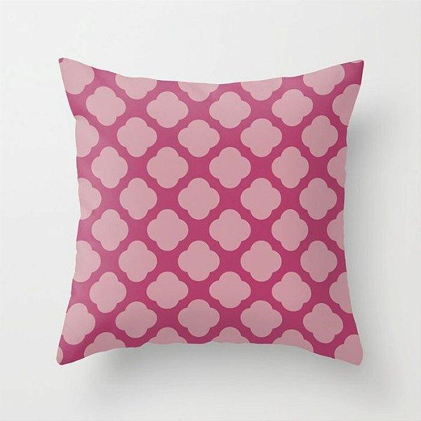 Capa de almofada Cute 2 Rosa Escuro