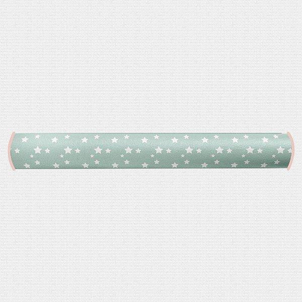 Rolo lateral para cama de solteiro Estrelas (várias cores)