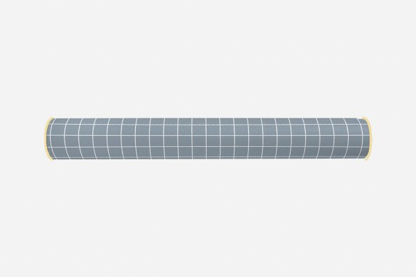 Rolo lateral para cama de solteiro Quadrados (várias cores)