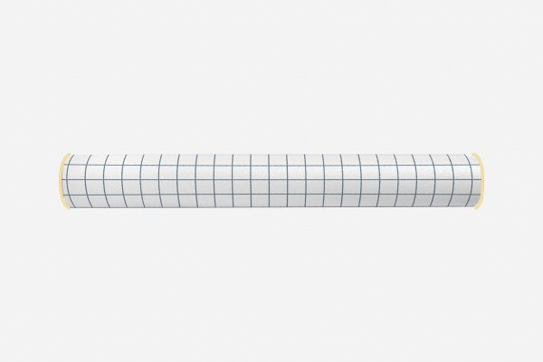 Rolo lateral para cama de solteiro Quadrados 2 (várias cores)