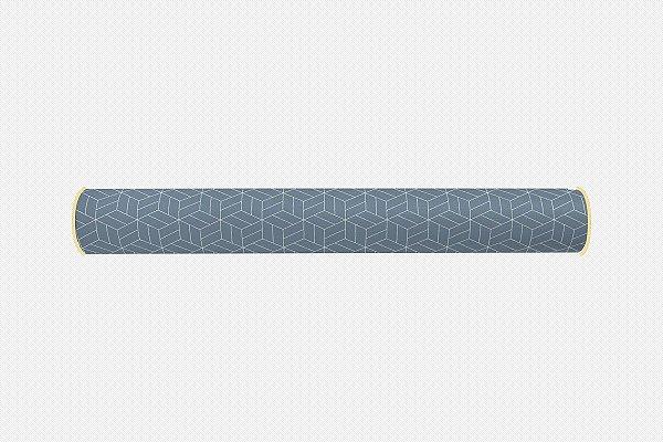 Rolo lateral para cama de solteiro Umi (várias cores)