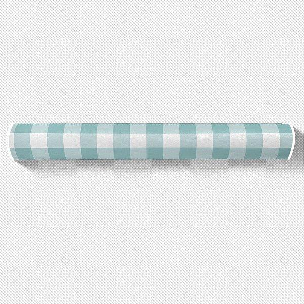 Rolo lateral para cama de solteiro Xadrez (várias cores)