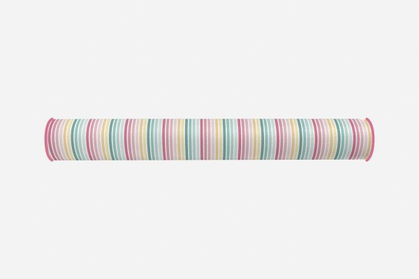 Rolo lateral para cama de solteiro Candy Listras