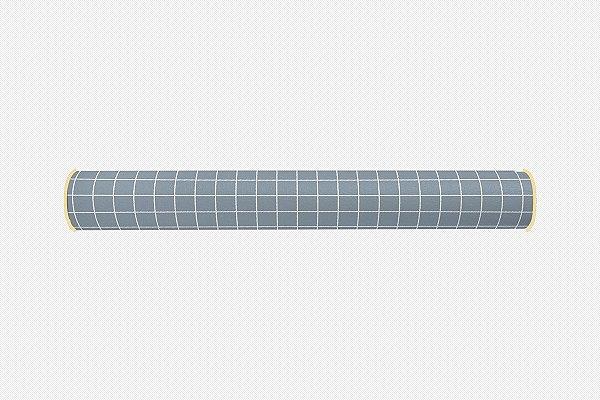 Rolo lateral para mini cama Quadrados (várias cores)