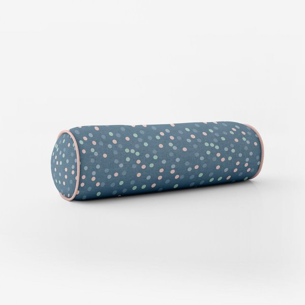 Rolo peseira para cama de solteiro Aurora 68 cm