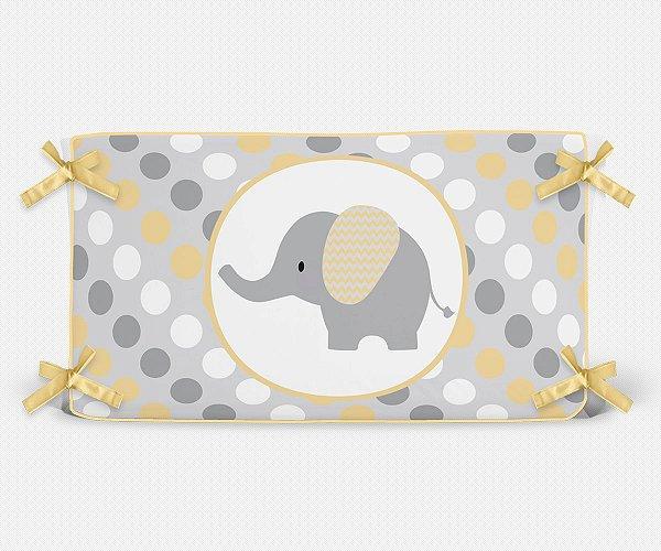 Cabeceira em espuma Elefante Amarelo