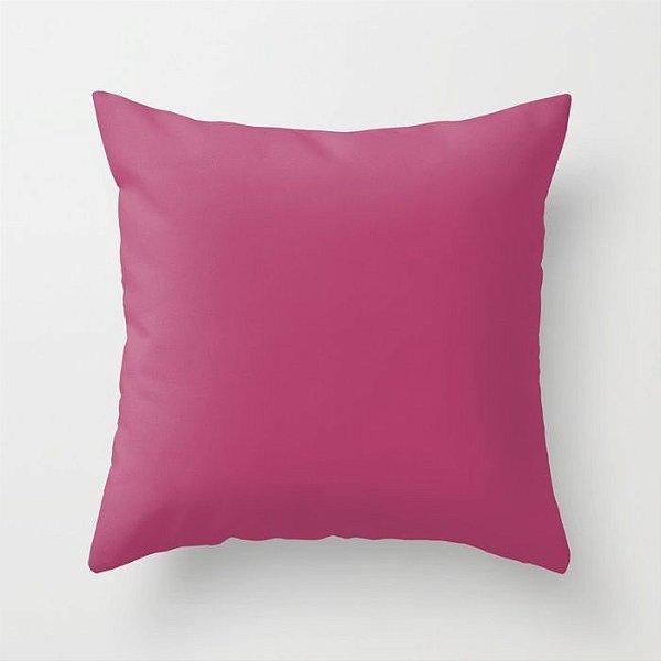 Capa de almofada Rosa escuro