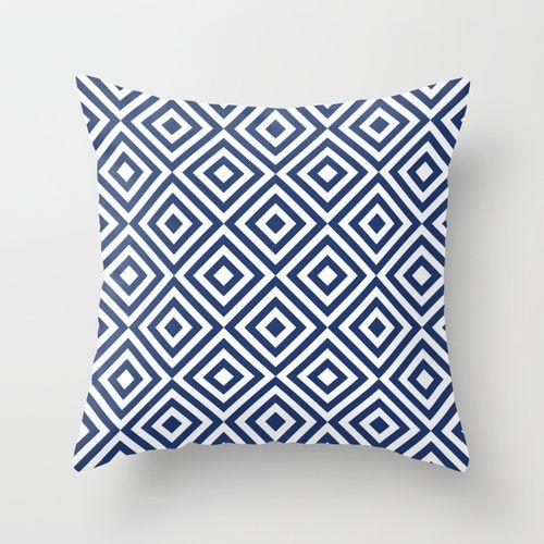 Capa de almofada Dizzy Azul Marinho