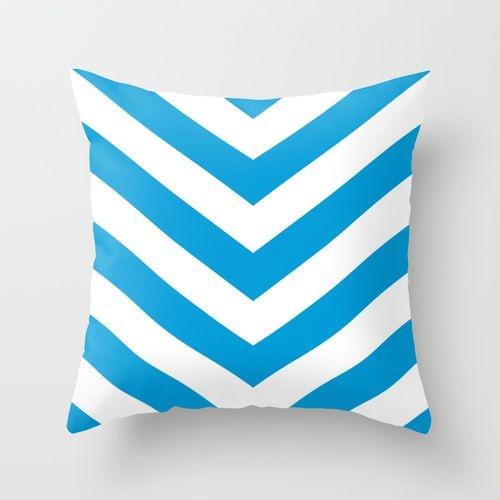 Capa de almofada V Azul Céu