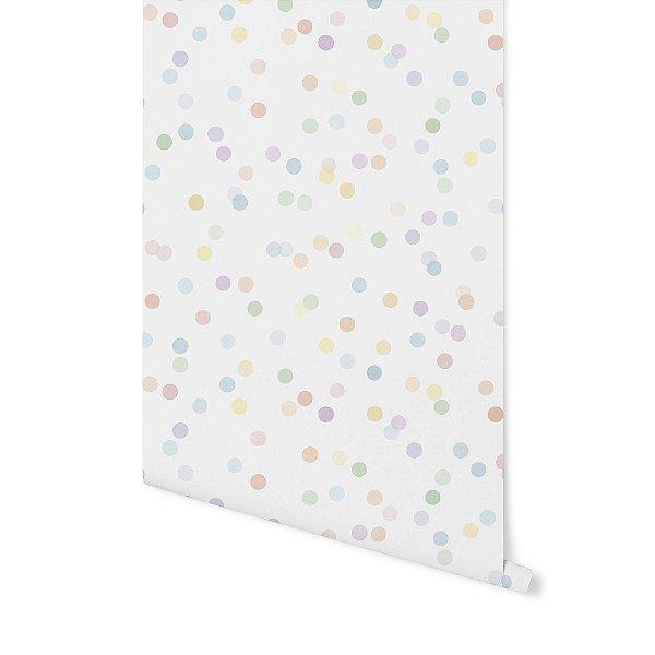 Papel de parede Confetti colorido