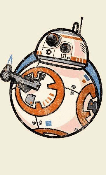 Camiseta Star Wars BB-8