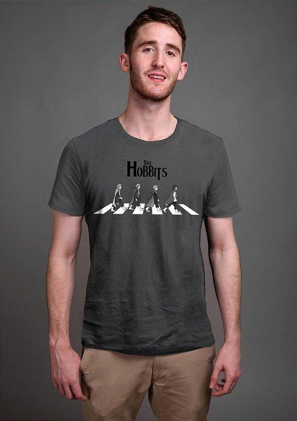 Camiseta Masculina  The Hobbits - Nerd e Geek - Presentes Criativos