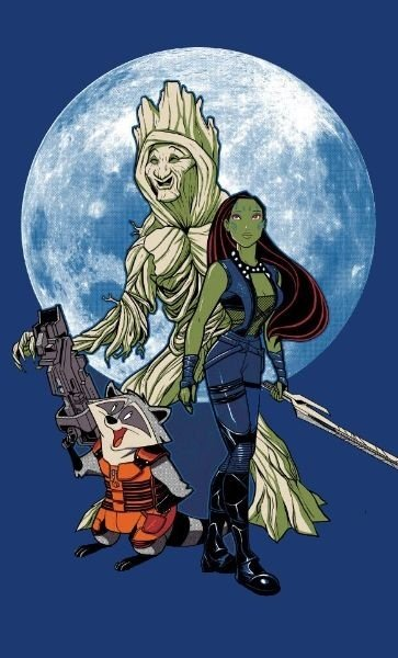 Camiseta Guardiões da Galáxia