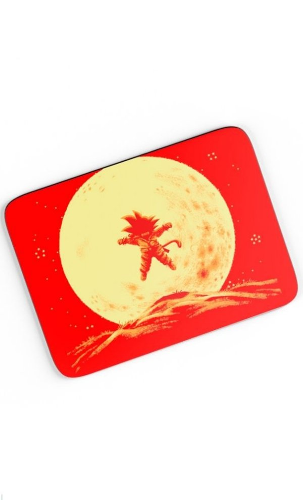 Mouse Pad Dragon Ball - Nerd e Geek - Presentes Criativos
