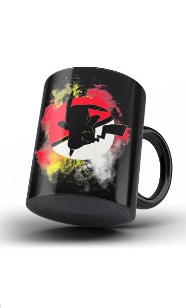 Caneca Anime Pokemon Fight - Nerd e Geek - Presentes Criativos
