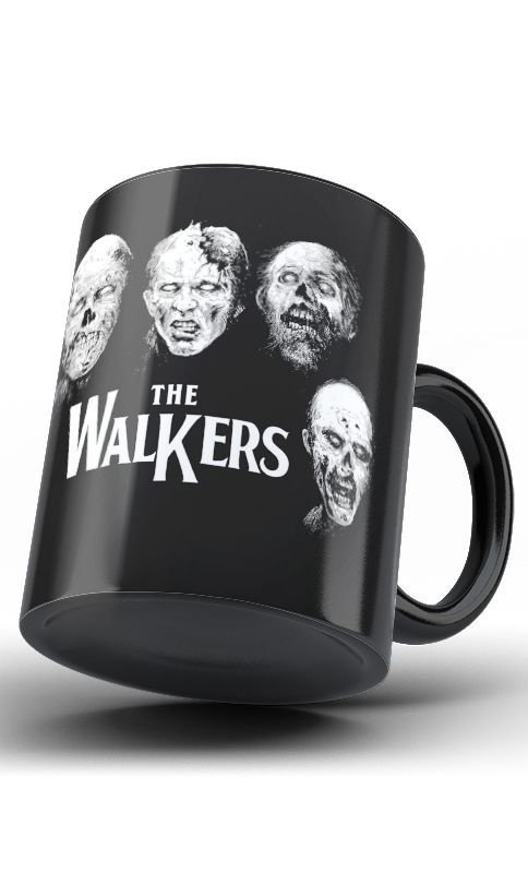 Caneca The Walkers - Nerd e Geek - Presentes Criativos