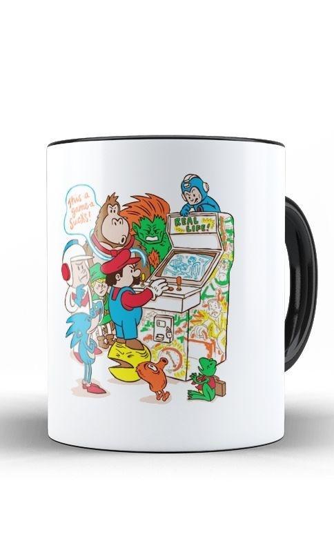 Caneca Mario Game - Nerd e Geek - Presentes Criativos