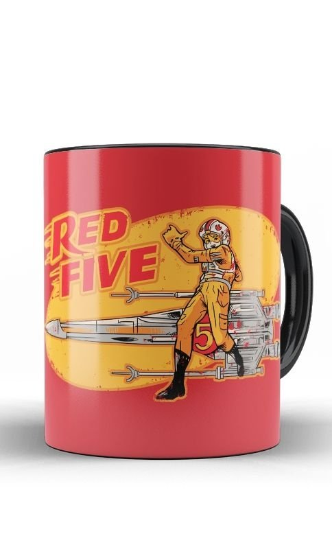 Caneca Red Five
